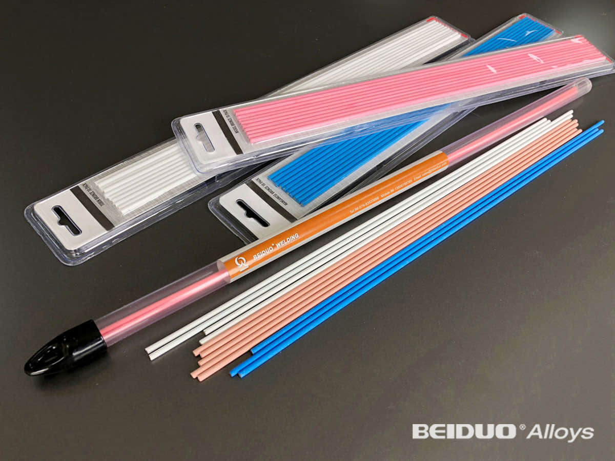 flux coated brazing alloy